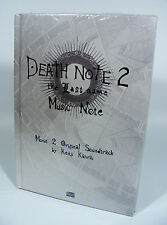 DEATH NOTE 2 THE LAST NAME Music Note Soundtrack CD Album NEU in Folie OST Anime