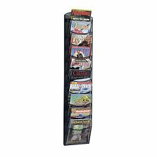 10 Pocket Magazine Wall Rack Organizer Holder Office Home Storage File Folders