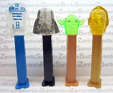 PEZ - STAR WARS CRYSTAL set - NEU 2015