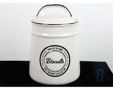 HEART OF THE HOME RETRO STYLED CERAMIC BISCUIT BARREL COOKIE JAR