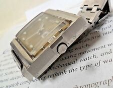 FuNkY Square Vintage 1970 S/S Men's Seiko DX 17Jewel Automatic Watch 6106-5009
