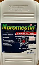 Noromectin (Ivermectin) Pour On 20 Liter Cattle Worm & Lice Control Norbrook
