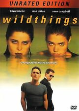 Wildthings ~ Kevin Bacon Matt Dillon Denise Richards ~ Unrated DVD FREE Shipping
