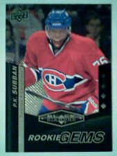 P.K. SUBBAN 10/11 AUTHENTIC QUAD DIAMOND ROOKIE GEMS CARD  SP
