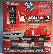 LIONEL CNJ LIONCHIEF REMOTE CONTROL RS-3 DIESEL PASSENGER TRAIN SET 6-81263 NEW