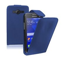 Leather Flip Case Cover Pouch Saver for Mobile Phone Samsung Galaxy Core 2 II