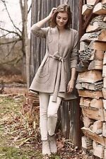 NWT Anthropologie Embroidered Boiled Wool Sweater Coat Rosie Neira- SZ XS
