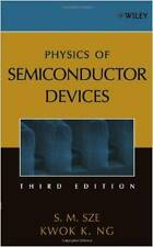 Physics of Semiconductor Devices Hardcover October 27, 2006 by Simon M. Sze
