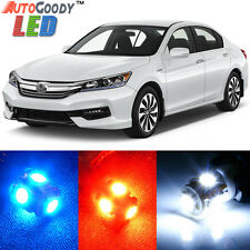 14 x Premium Xenon White LED Lights Interior Package Kit for Honda Accord