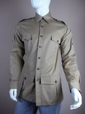 $1745 Black Sweater Khaki Jacket size Large L Made in the USA Shirt New Tag Coat