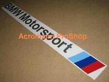 """40"""" 102cm BMW Motorsport Windshield Decal Sticker F32 F30 E90 E46 E36 E60 E63 X1"""
