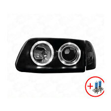 2 x Faro VW Polo 6N2 99-01 Angel Eyes black / nero 1100374