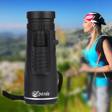 Day&Night Vision 40X60 HD Optical Monocular Hunting Hiking Telescope Outdoor