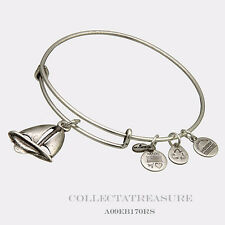 Authentic Alex and Ani Sailboat Rafaelian Silver Charm Bangle