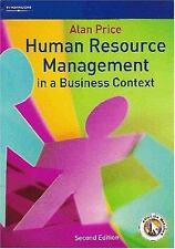 Human Resource Management in a Business Context, Alan Price, New Book
