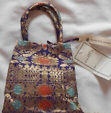 Beautiful Brand New Handmade Vintage Japanese Silk Kimono Obi Fabric Handbag