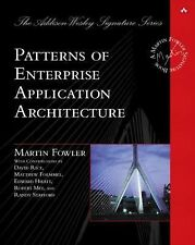Addison-Wesley Signature Series (Fowler): Patterns of Enterprise Application...