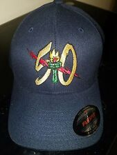 VAW-115 LIBERTY BELLS 50th ANNIVERSARY FLEX FIT BALL CAP IN THE SIZE L/XL