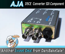 AJA D5CE SDI to Component/Composite Analog Video Decoder INCLUDES Power Supply!