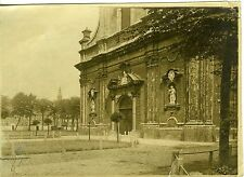 PHOTO VILLE DE GAND GENT BELGIQUE L'EGLISE PETIT BEGUINAGE BELGIUM 1900