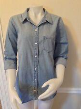 NWT GAP Women's XL Denim Shirt Top Msrp 49.99