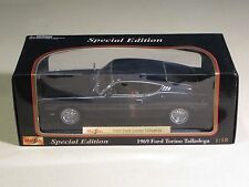 MAISTO MINT IN BOX Special Edition 1969 FORD TORINO TALLADEGA Blue Car