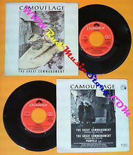 LP 45 7'' CAMOUFLAGE The great commandment Pompeji 1987 italy (*) no cd mc dvd