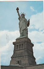 BF17828   statue of liberty new york city  USA front/back image