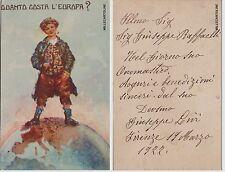 # 1922 ...QUANTO COSTA L'EUROPA?..vale anche per oggi..