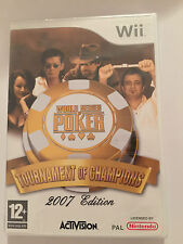 World Series Of Poker: Tournament of Champions 2007 Ed For Nintendo Wii (SEALED)