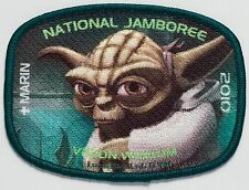 STAR WARS Marin Council 2010 Jamboree 533 OA DISNEY 2017 patch JSP YODA DELEGATE