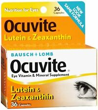 Bausch - Lomb Ocuvite Lutein Capsules 36 Capsules (Pack of 5)