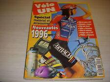 CYCLISME VELO UN 17 11.95 SPECIAL EQUIPEMENTS NOUVEAUTES 1996 VELO VETEMENT ...