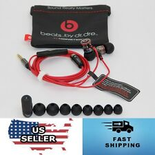 USA-STOCK - Monster by Dr Dre iBeats In Ear Headphones Earphones Headset - BLACK