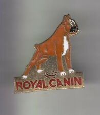RARE PINS PIN'S .. ANIMAL CHIEN DOG BOXER ROYAL CANIN EMAIL~CX