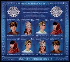 Kopfbedeckungen aus Nordrußland. KB. Rußland 2011