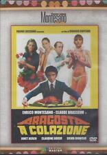 Dvd **ARAGOSTA A COLAZIONE** con E. Montesano C. Brasseur nuovo 1979