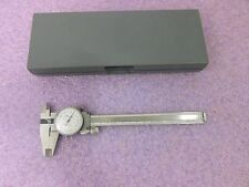 Stainless Steel 0.02mm Dial Caliper With Gray Plastic Case