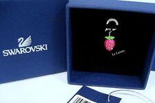 Swarovski Strawberry Charm, Fruit Siam Crystal Authentic MIB 1186376