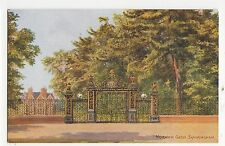 C.T. Howard, Norwich Gates, Sandringham, Salmon Art Postcard, A853