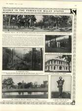 1909 Federated Malay States Fakir Rubber Plantation Cemetery Taiping