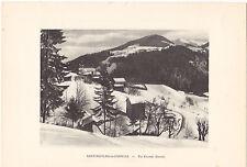 Heliogravure Savoie Saint-Nicolas-la-Chapelle, par Flumet G.L.ARLAUD  1930
