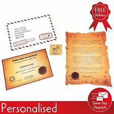 Personalised Letter From Santa Inc. Reindeer Food & Good Child Certificate