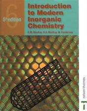 Introduction to Modern Inorganic Chemistry, 6th edition by Mackay, R.A., Hender
