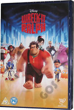 Wreck It Ralph Classic Walt Disney Film Kids Childrens Movie DVD New Sealed
