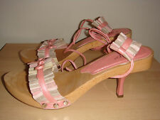 Zappos RSVP Irina Pink Shoes Heels Size 8 M Summer Bridal Prom Shoes Heels NEW