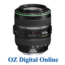 Canon EF 70-300mm f/4.5/F4.5-5.6 DO IS USM 1 Yr Au Wty