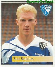 158 ROB REEKERS NETHERLANDS VFL BOCHUM STICKER FUSSBALL 1995 PANINI