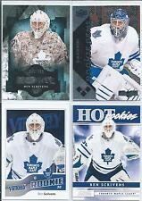 Ben Scrivens  11/12  All Different  4-RC Lot  w/SP