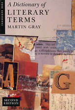 Dictionary of Literary Terms (York Handbooks)-ExLibrary